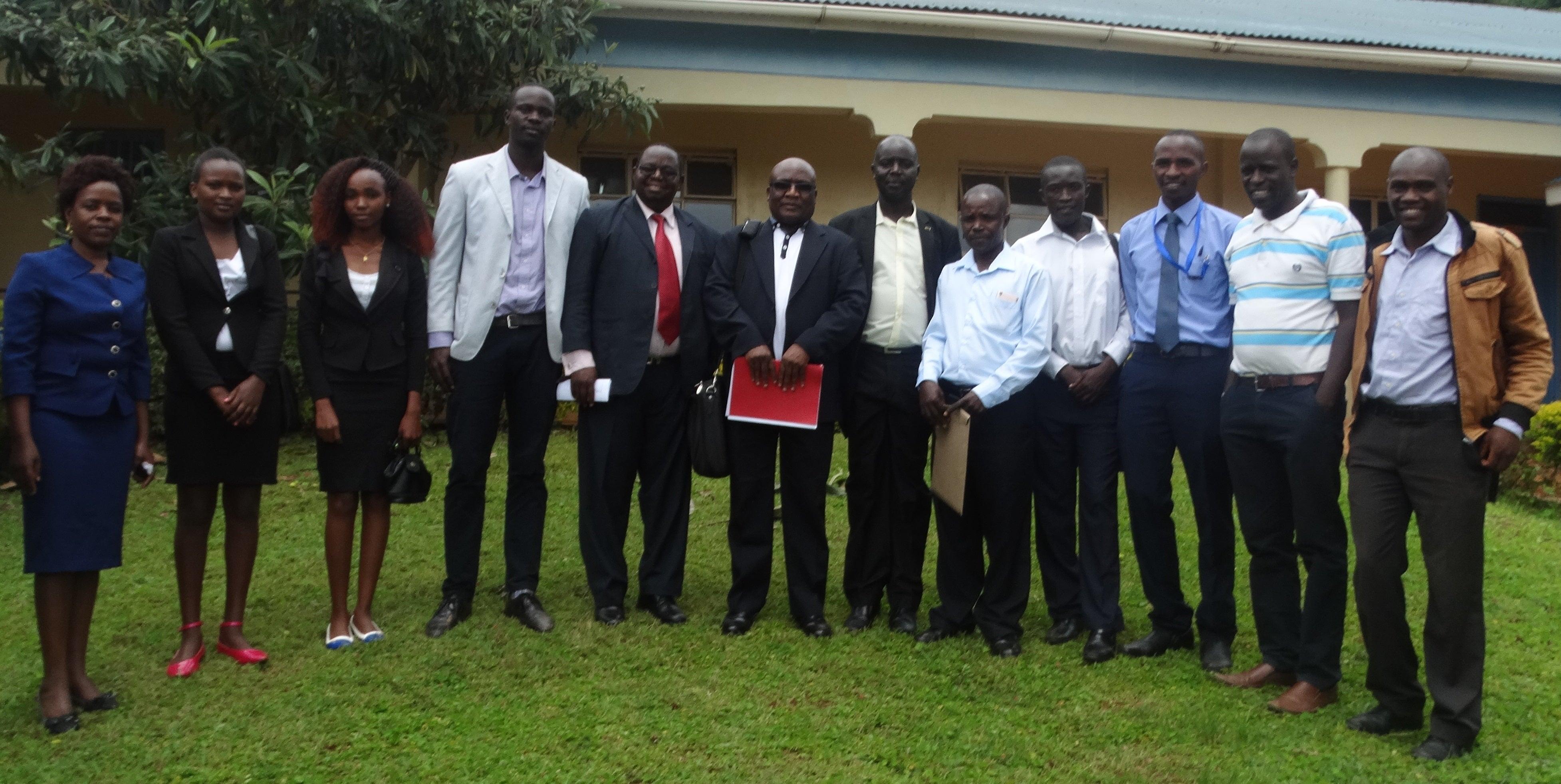 Dr. Kepher Makambi at Kisii University, Kenya 2018